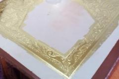 επιγονάτιο αγια θεοδώρα αρτας. στιλβωτό χρυσό